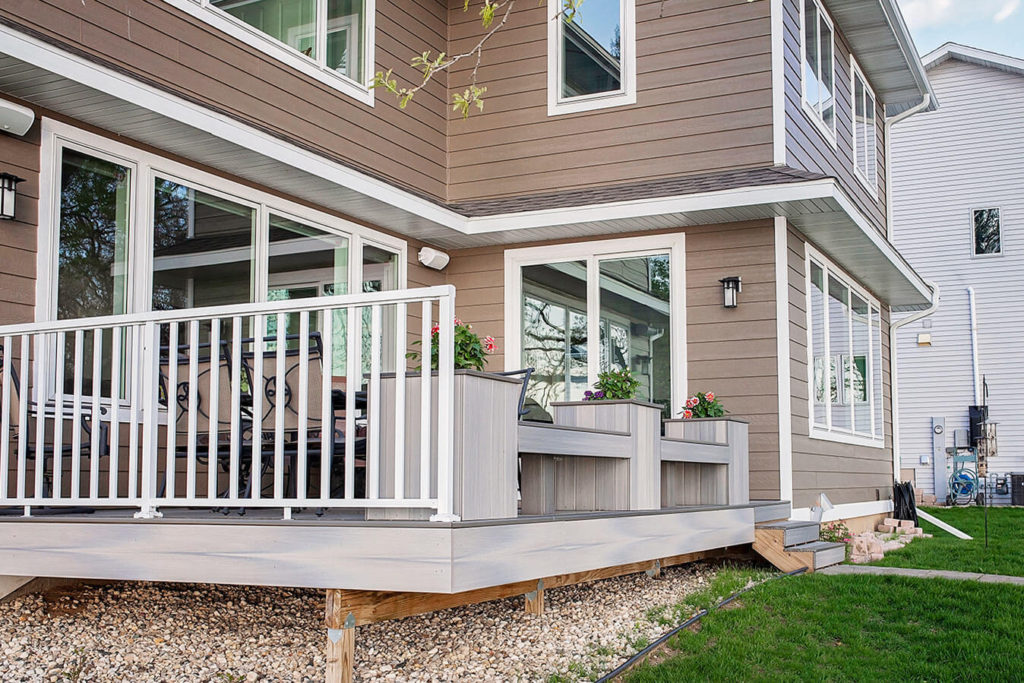 Cheramy Builders Inc., Card Ave home exterior deck