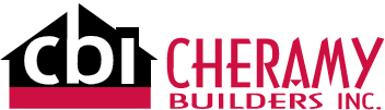 Cheramy Builders Inc. Logo horizontal design
