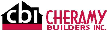 Cheramy Builders Inc. Logo horizontal design